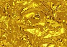 Guld- krom texturerad bakgrundsdesign arkivbild