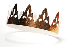 guld- krona Royaltyfri Bild