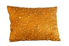 guld- kudde Royaltyfri Bild