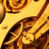 guld- kugghjul Royaltyfria Foton