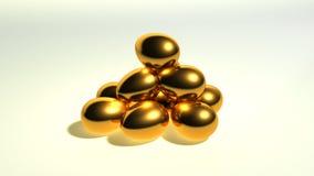 guld- kull Fotografering för Bildbyråer