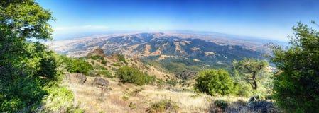 Guld- kullar i Contra Costa County, montering Diablo Fotografering för Bildbyråer