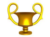Guld- kupa Royaltyfria Bilder