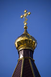 Guld- kupol Royaltyfria Foton