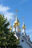 guld- kupoler Royaltyfria Bilder
