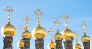 guld- kupoler Arkivfoton