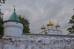 Guld- kupoler Royaltyfri Bild