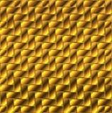 Guld- kvarterdurk Arkivbild