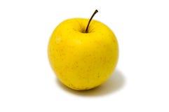 Guld- - läckert äpple med gul hud Royaltyfria Bilder
