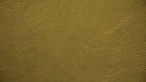 Guld- läder texturerar Royaltyfri Foto