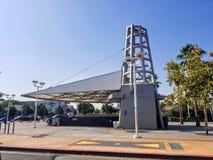 Guld- linje station för Soto gatatunnelbana royaltyfri foto