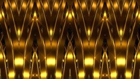 guld- linjer för bakgrund lager videofilmer
