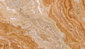 Guld- lockig marmor Fotografering för Bildbyråer