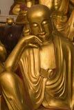 guld- lohan staty Royaltyfri Bild