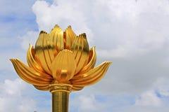 Guld- Lotus Square, Macao, Kina arkivbilder