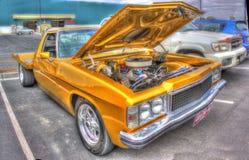 Guld målad Holden ute Royaltyfria Foton