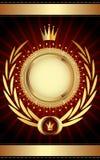 guld- malltappning Royaltyfri Bild