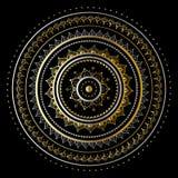 Guld- mandala Royaltyfri Fotografi