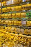 Guld- marknad i Duba Arkivfoto