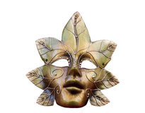 guld- maskering Royaltyfri Foto
