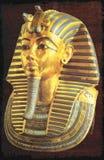 Guld- maskering av den egyptiska faraotutankhamunen Royaltyfri Foto