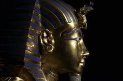 guld- maskering s tutankhamen Fotografering för Bildbyråer