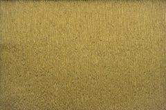 Guld- metallisk färgkräppapper för naturliga texturer 40 procent elasticitet Arkivfoton