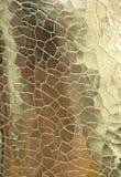 Guld- metallisk textil Royaltyfri Foto