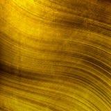 Guld- metalltextur Arkivbilder