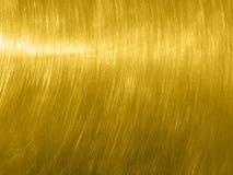 Guld- metalltextur och bzckgroundyttersida Royaltyfri Foto