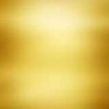 Guld- metalltexturbakgrund Royaltyfri Bild