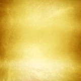 Guld- metalltexturbakgrund Royaltyfri Foto