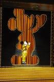 guld- micky show Royaltyfri Foto