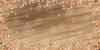 Guld- mistel Arkivfoto