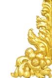 Guld- modell Arkivbild