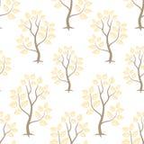 Guld- modell för skogseamlesvektor Royaltyfri Bild