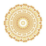 Guld- modell för tappning Royaltyfria Bilder