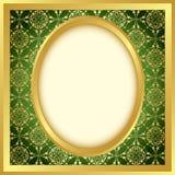 guld- modellvektor för ljus ram vektor illustrationer