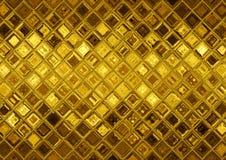 guld- mosaik royaltyfria foton