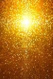 Guld- mosaik Arkivbilder