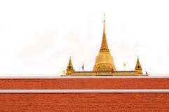 Guld--mun bangkok Royaltyfri Bild
