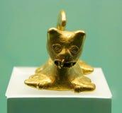 Guld- museum Arkivfoto