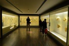 Guld- museum i Bogota Arkivfoton