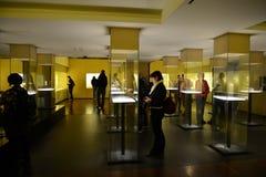 Guld- museum i Bogota Arkivbild