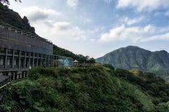 Guld- museum Jinguashi royaltyfria bilder