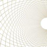 Guld- nätverk på white Arkivbilder