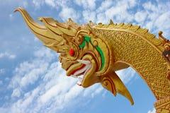 Guld- naka Royaltyfria Bilder