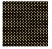 Guld och abstrakt bakgrund för svart Arkivbild