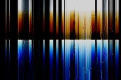 Guld- och blå bakgrund för färgstång royaltyfri illustrationer