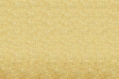 Guld och gulingjul som blänker bakgrund Ferieabstrac Royaltyfri Fotografi